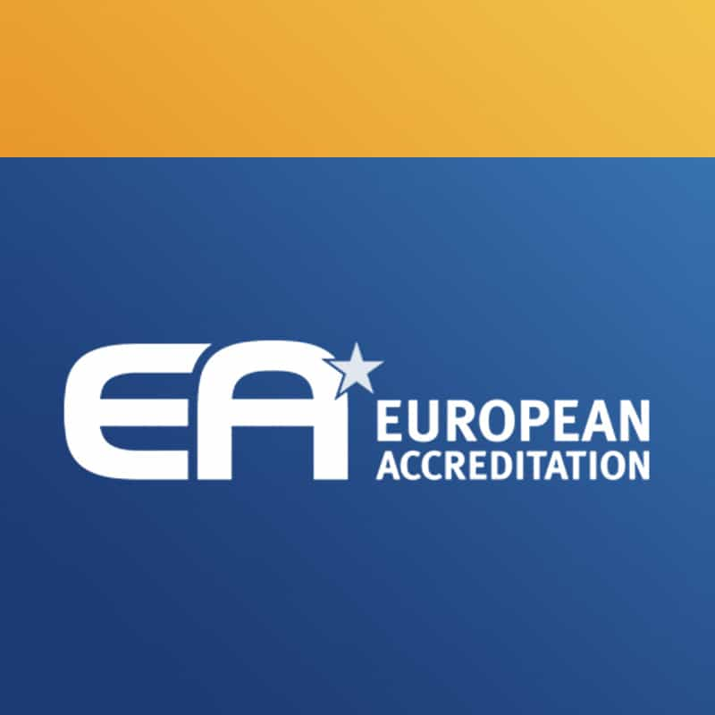 European Accreditation site internet